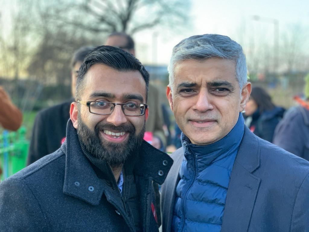 Krupesh and Sadiq